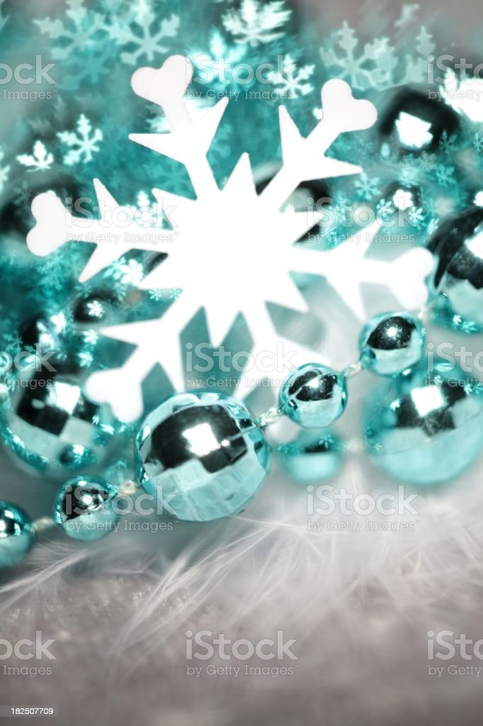 Special effect snowflake royalty-free stock photo