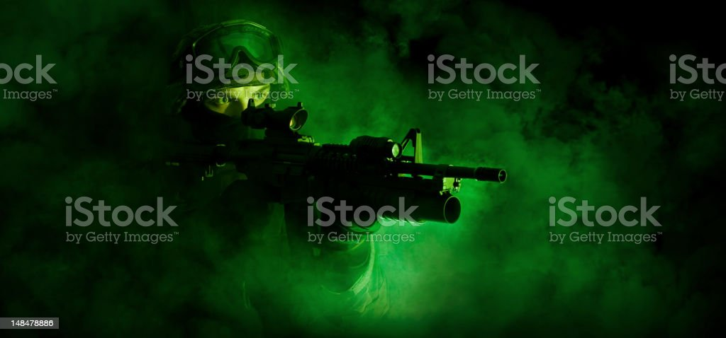 special force soldier stock photo