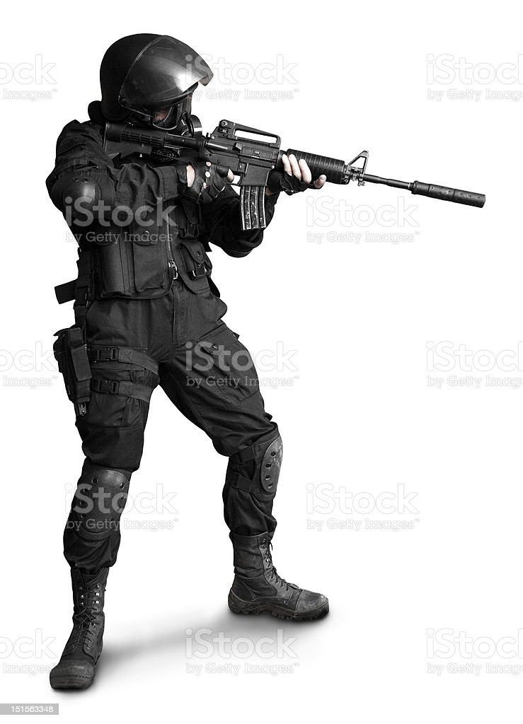 Special forces stock photo