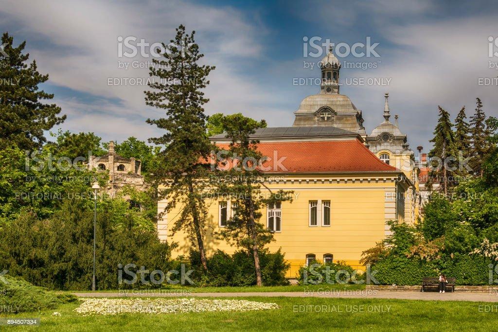 Special Hospital for rheumatic diseases Novi Sad stock photo