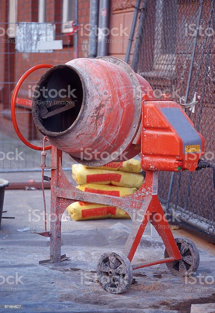 Special machinery royalty-free stock photo