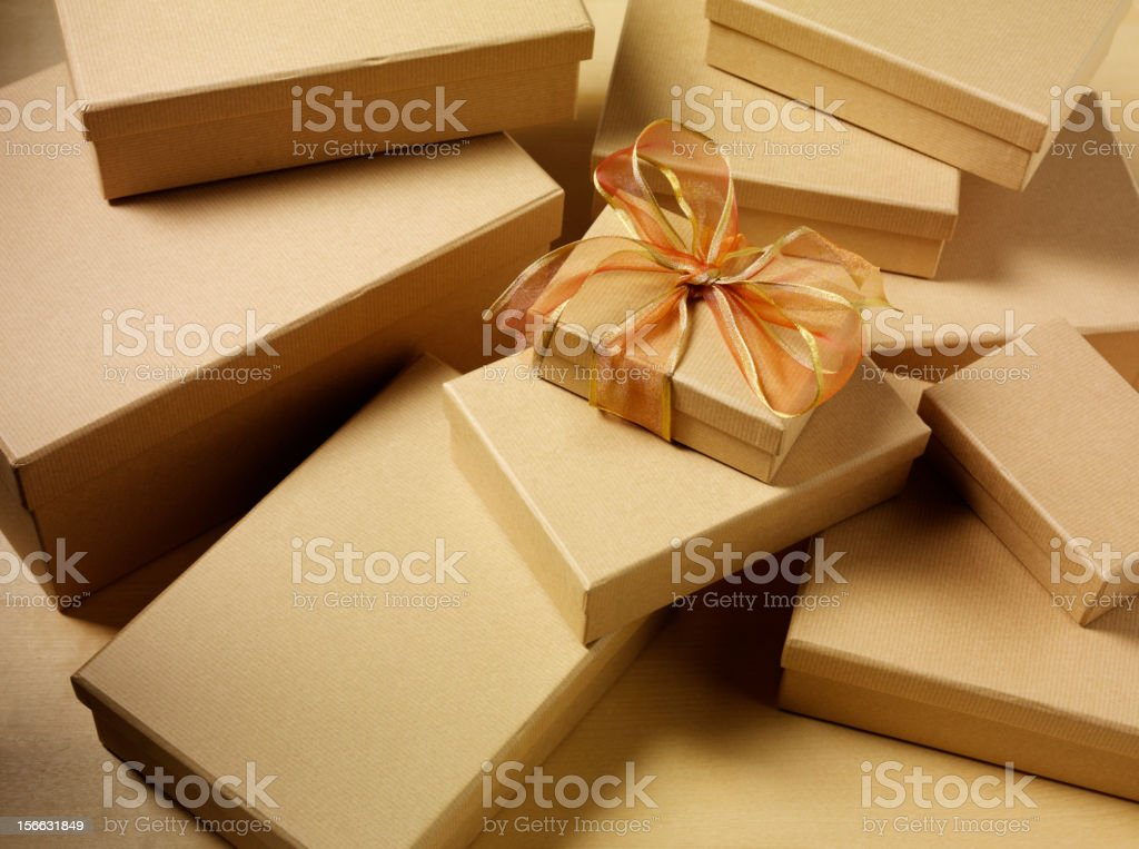 Special Parcel royalty-free stock photo
