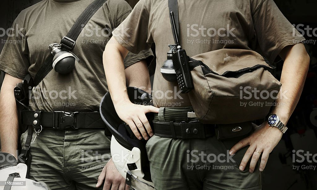 Special police forces royalty-free stock photo