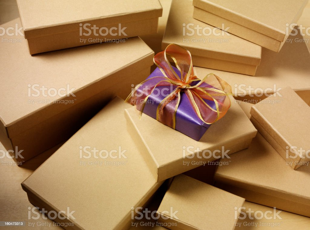 Special Present royalty-free stock photo