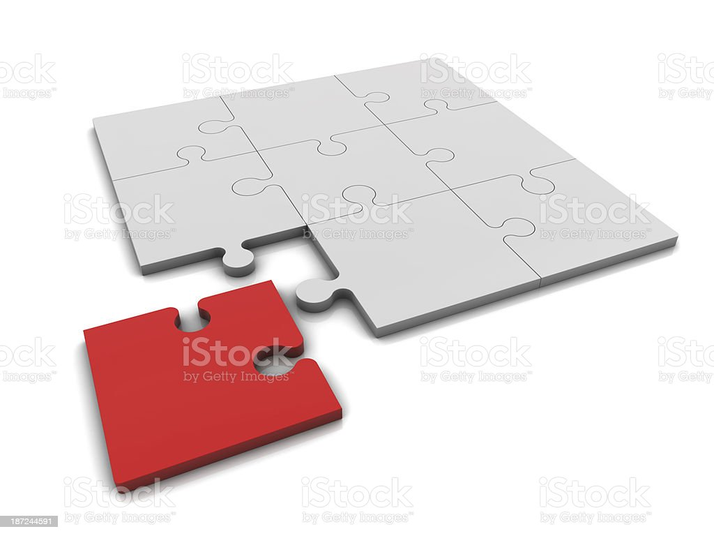 Special Puzzle royalty-free stock photo