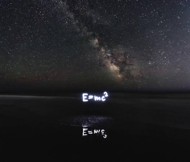 especial de la relatividad - e=mc2 fotografías e imágenes de stock