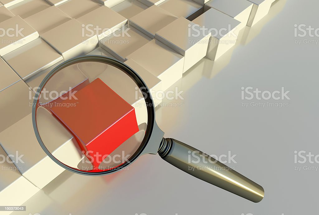 Special search royalty-free stock photo
