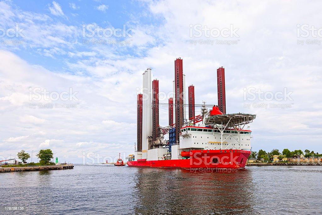 Specialist ship stock photo