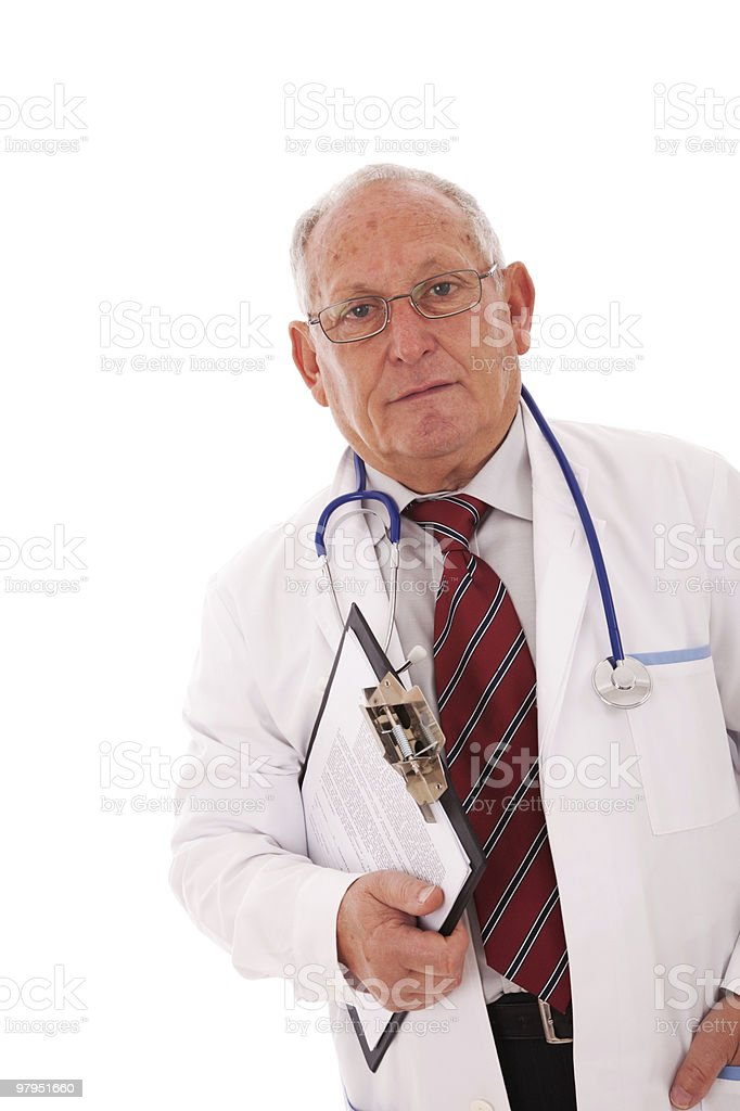 Speciality Doctor royalty-free stock photo