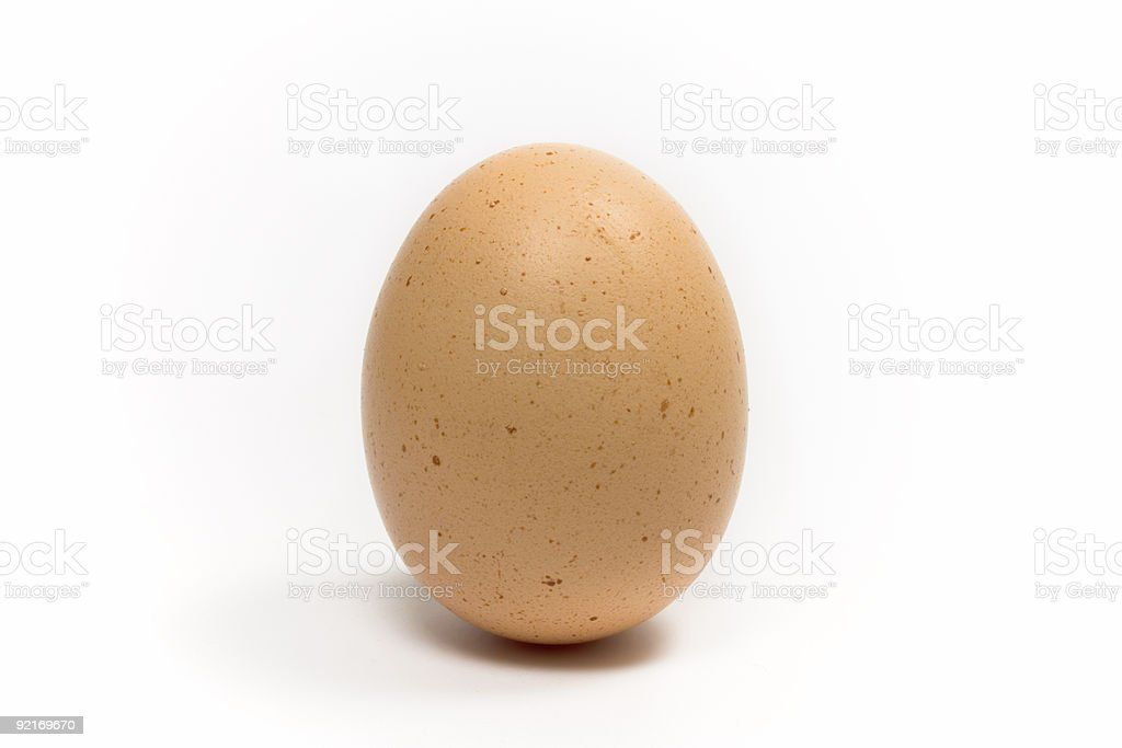 Speckled Hens Egg royalty-free stock photo