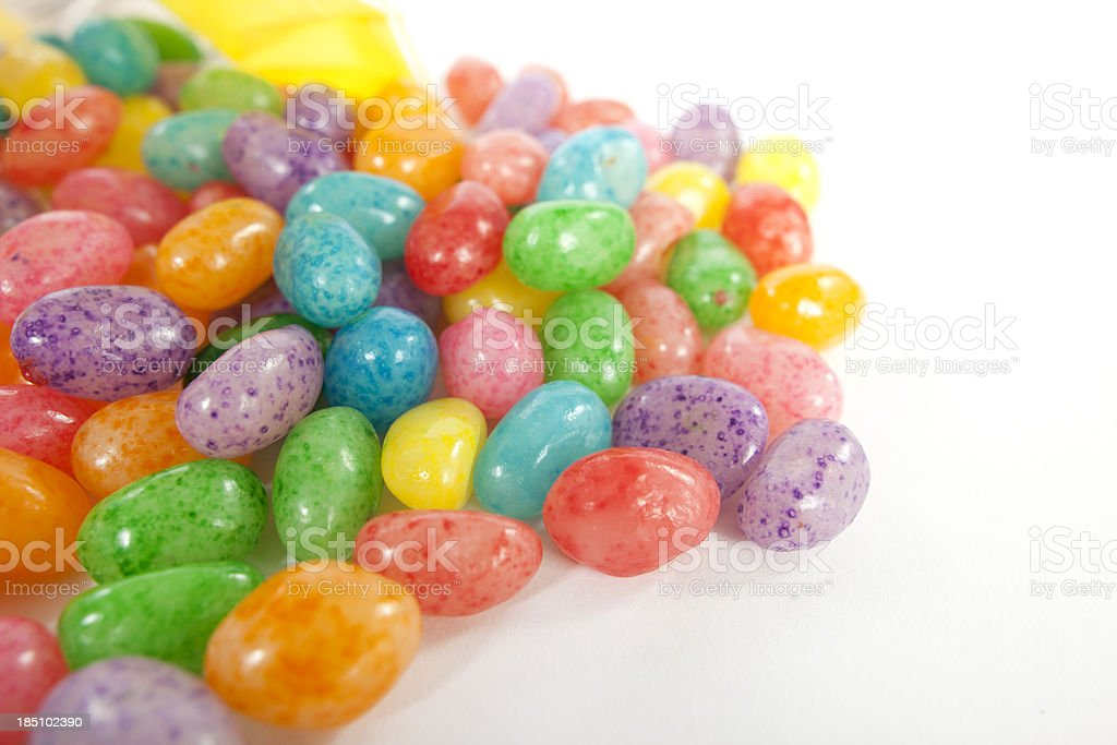 Speckled Jelly Beans stock photo