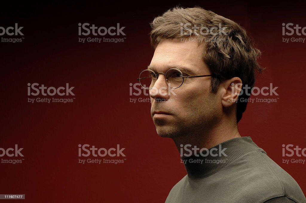 Spectacle Man royalty-free stock photo