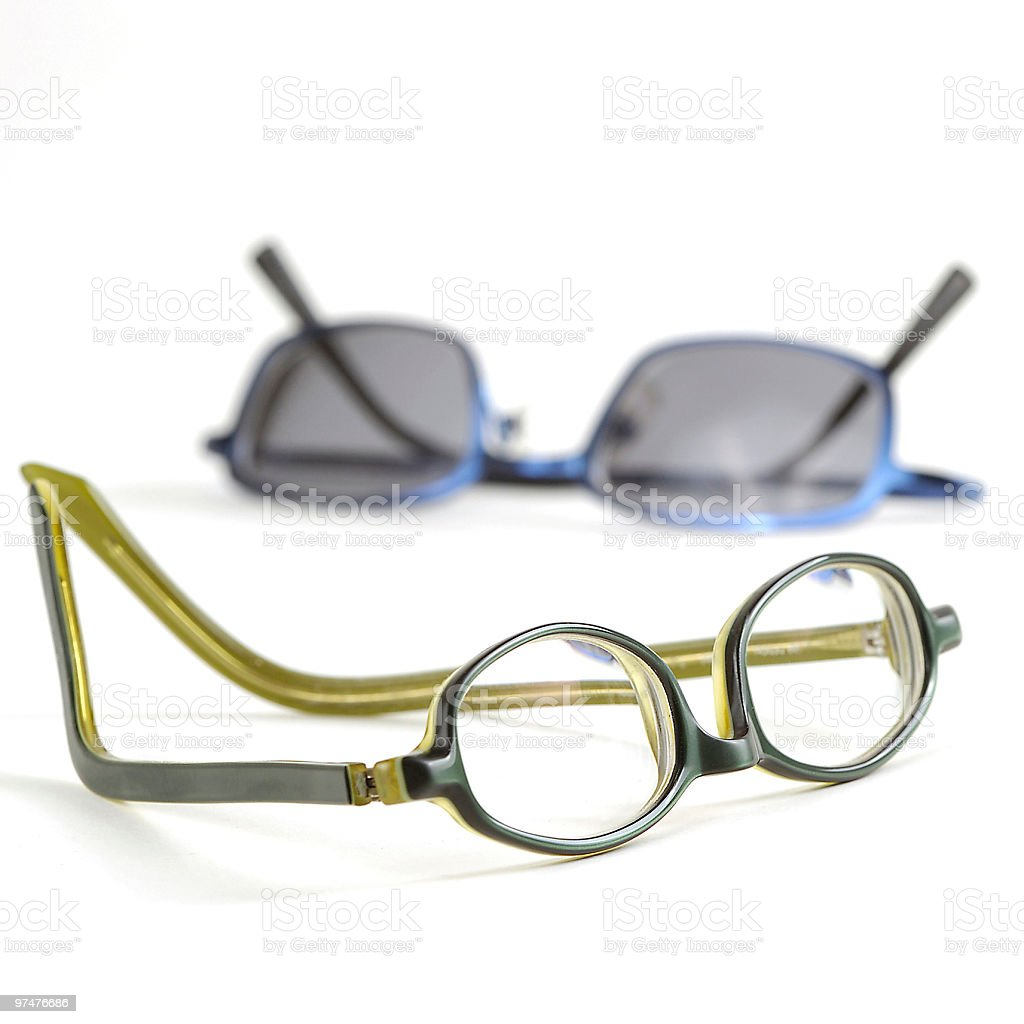 Brille royalty-free stock photo