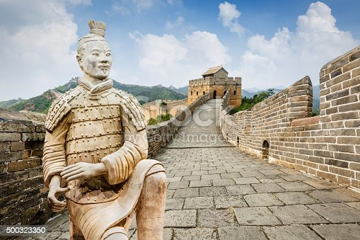 istock spectacular Great Wall of China,in Beijing 500323350