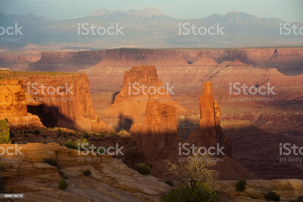 Spectacular landscapes of Canyonlands National park in Utah, USA royalty-free stock photo