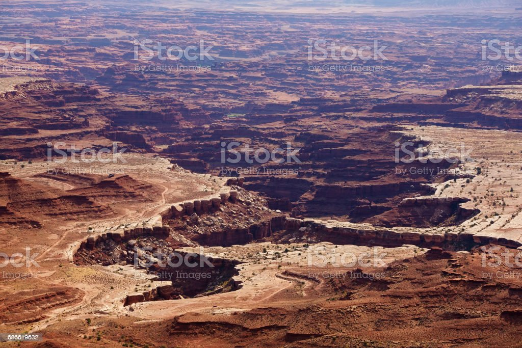 Spectacular landscapes of Canyonlands National park in Utah, USA photo libre de droits