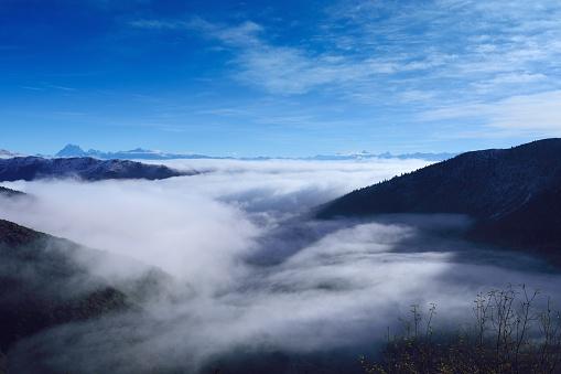 China,Sichuan province,Ganzi Tibetan Autonomous Prefecture,