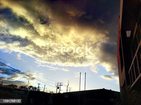 istock Spectacular sunset in Managua 1094268132
