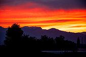 istock spectacular  sunset 492672928