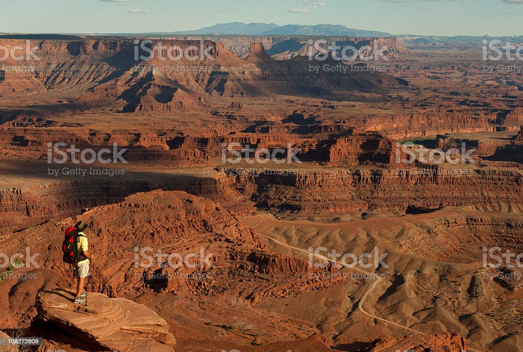 Spectacular View Of Canyonlands National Park Moab, Utah royalty-free stock photo