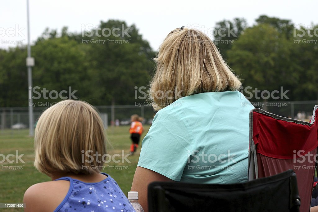 Spectators 1 royalty-free stock photo
