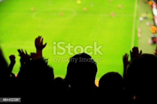 istock Spectators fans football 464402097