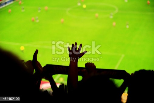 istock Spectators fans football 464402109