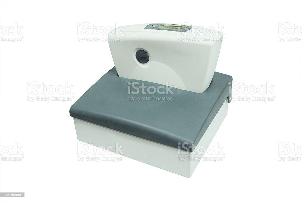 spectrophotometer stock photo