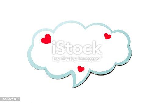 sprechblase wie eine wolke mit blauen rand isoliert auf wei em hintergrund textfreiraum stock. Black Bedroom Furniture Sets. Home Design Ideas