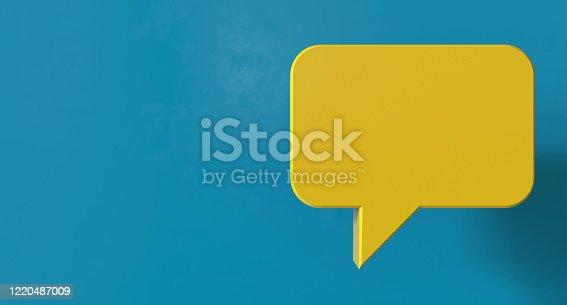 1192285342 istock photo Speech Bubble Chat 1220487009