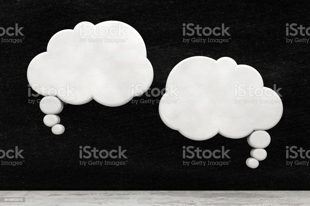 Discurso bolhas - foto de acervo