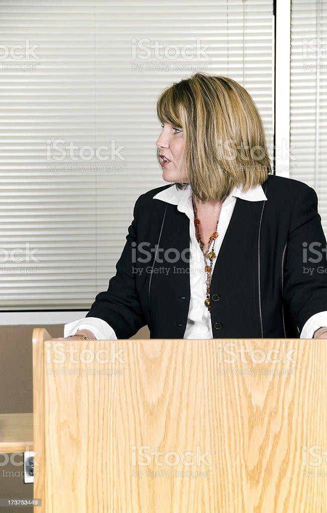 Speech royalty-free stock photo