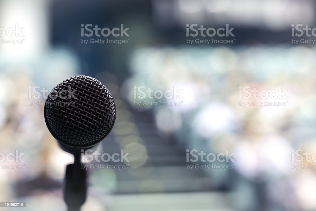 Speech Time! Your Turn! stock photo