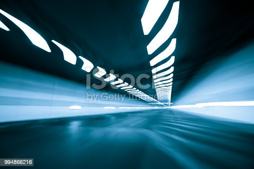 603907998 istock photo Speed and motion in tunnel 994866216