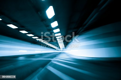 603907998 istock photo Speed and motion in tunnel 994866228