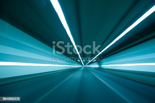 603907998 istock photo Speed and motion in tunnel 994866326