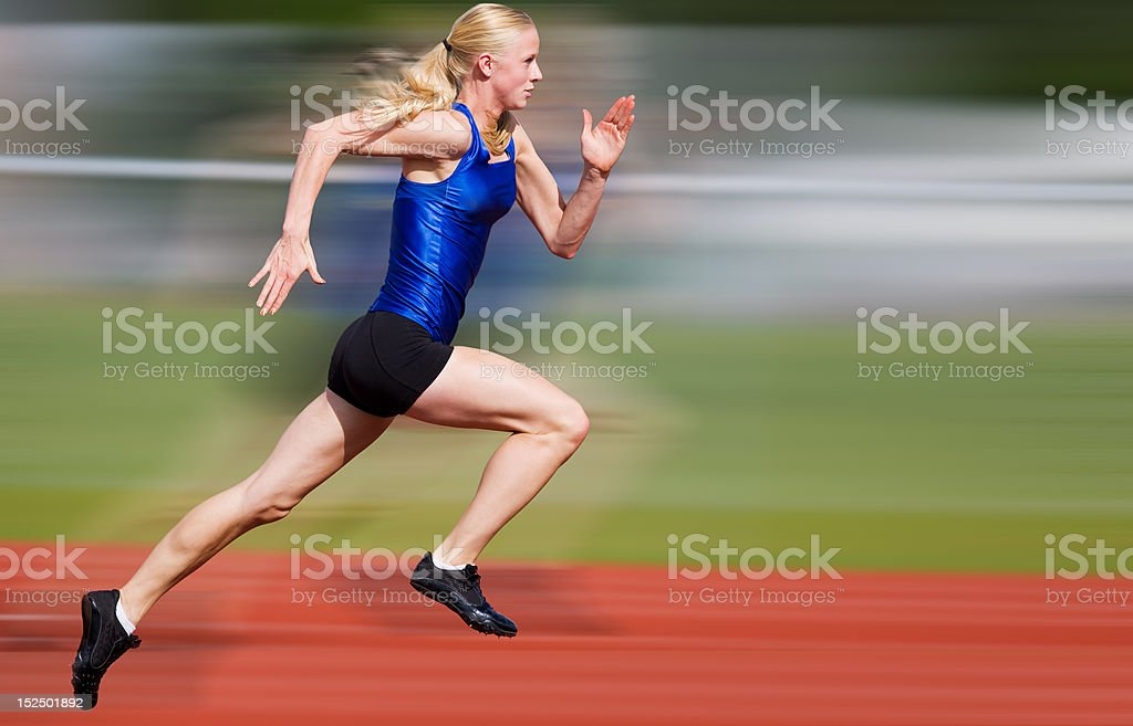 Speed blur stock photo