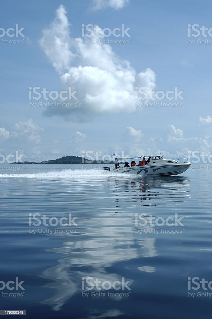 Speed Boat royalty-free stock photo