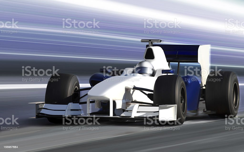 speed bolide royalty-free stock photo