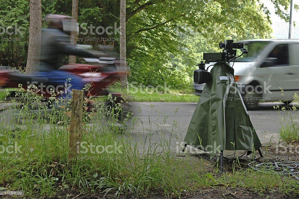 Speed camera #3 stock photo
