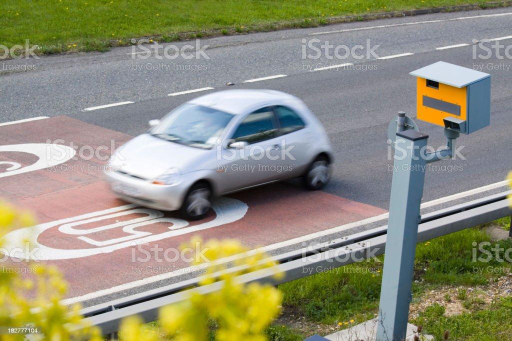 UK Speed Camera stock photo