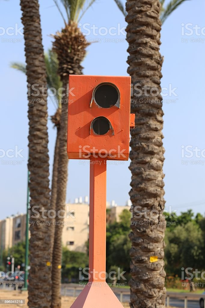 Speed Camera. royalty-free stock photo