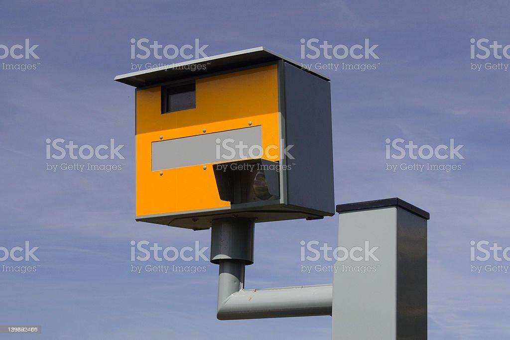 Speed Camera, UK. stock photo