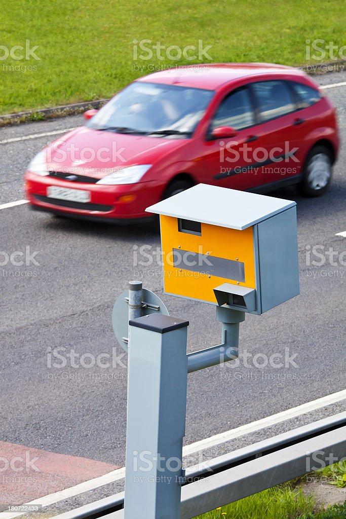 Speed Camera UK stock photo