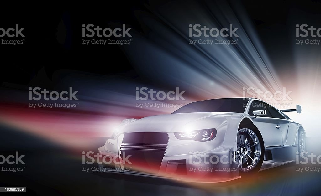 Speed Demon stock photo