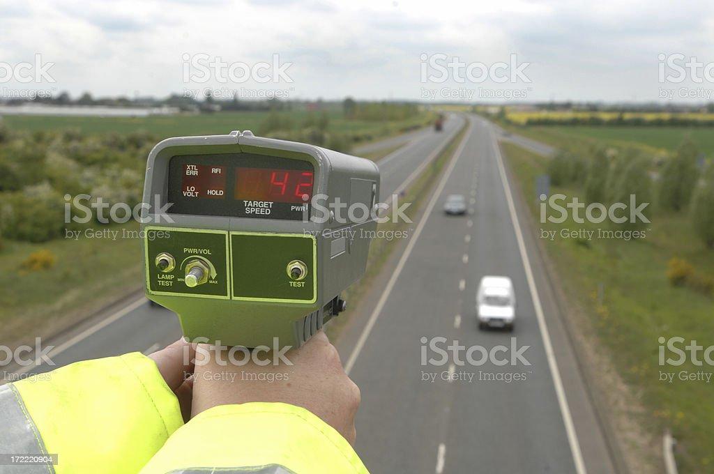 Misuratore di velocità - foto stock