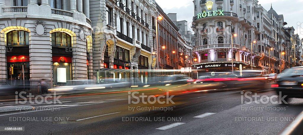 Velocidad de Madrid - foto de stock
