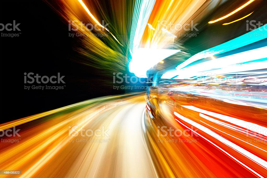 speed motion stock photo