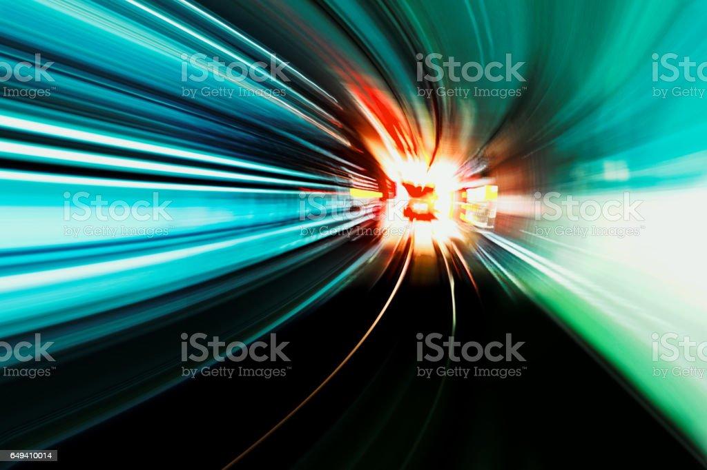 speed motion stock photo