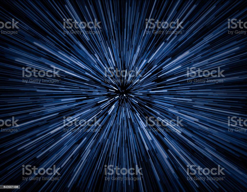 Velocidad de la luz  - foto de stock